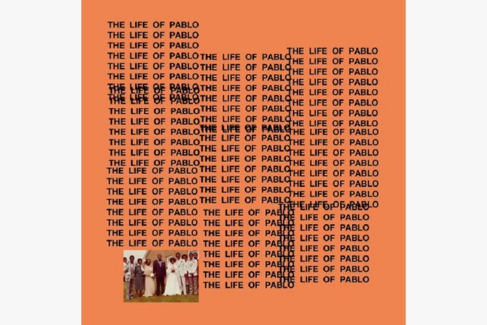 Kanye West Shares Cover-Art for 'The Life of Pablo'