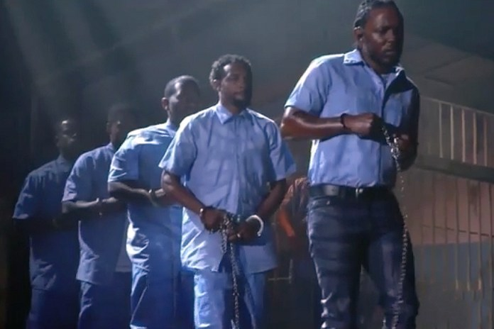 Watch Kendrick Lamar's Phenomenal Performance at the 2016 GRAMMYs