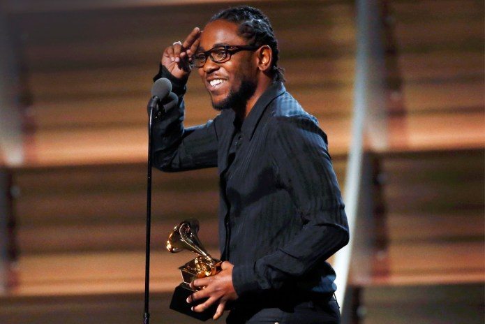 "Watch Kendrick Lamar's GRAMMY Speech for ""Best Rap Album"""