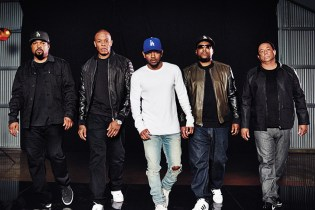 Kendrick Lamar Will Induct N.W.A to Into Rock and Roll Hall of Fame