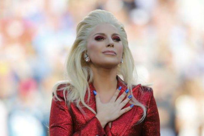 Lady Gaga Sings National Anthem at Super Bowl 50