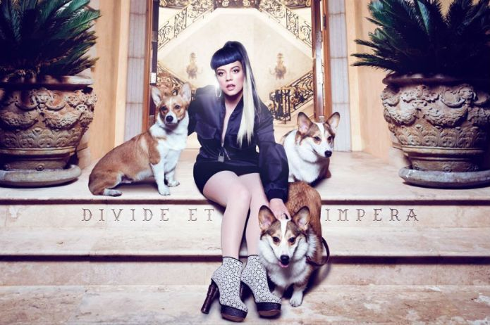 Lily Allen Pays Homage to Kanye West With 'The Wife of Pablo' Cover Art