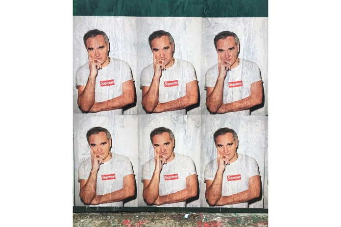 Morrissey Isn't Happy with Supreme