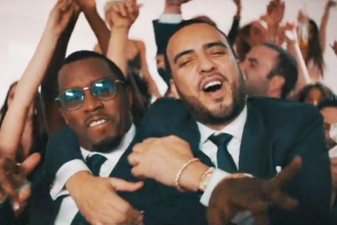 Puff Daddy & French Montana Convey 'The Wolf of Wall Street' in the New Video