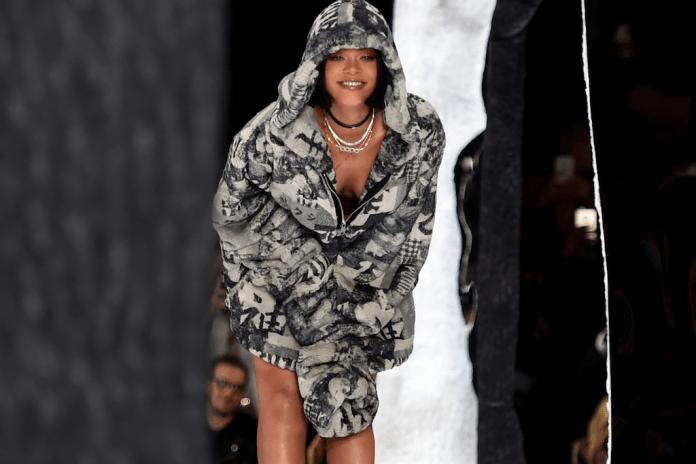 Check out Rihanna's New Signature Shoe With Puma