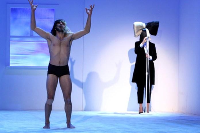 "Sia Recruits Shirtless Man to Perform ""Bird Set Free"" on 'Ellen'"