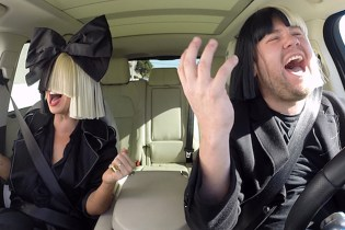 "Sia Joins James Corden For ""Carpool Karaoke"""