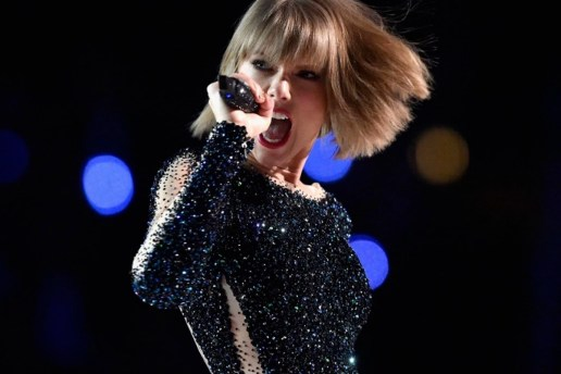 """Taylor Swift Responds to Kanye West's """"Famous"""" Lines at the GRAMMYs"""