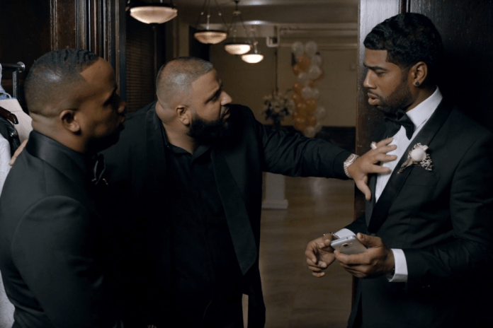 """DJ Khaled Saves a Marriage in Yo Gotti's New Video for """"Down In The DM"""""""