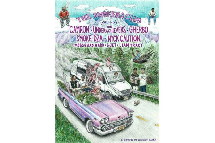 Cam'ron & The Underachievers to Headline The Smokers Club Tour 2016