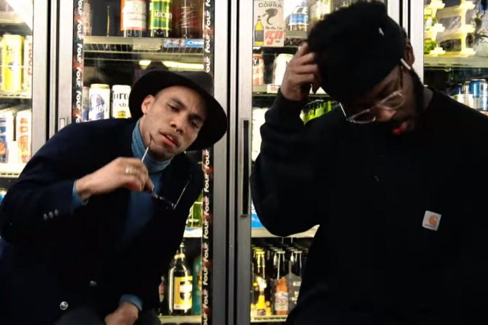 "Anderson .Paak & Knxwledge Hit the Liquor Store for ""Link Up"" Video"
