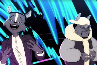 Watch A$AP Rocky & A$AP Ferg Rap as Animated Cats for 'Animals'