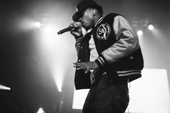 "Chance the Rapper Performs Kanye West's ""Ultra Light Beam"""
