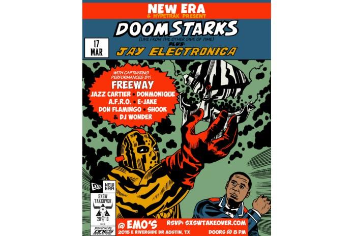 New Era x HYPETRAK Present DOOM & Ghostface Killah as DOOMSTARKS and Jay Electronica @ SXSW