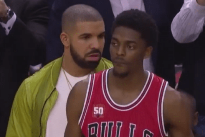 Drake Trash Talks the Bulls Into a Turnover