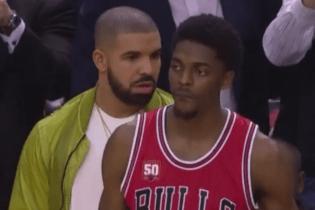 Drake Trash Talks the Bulls Into a Turnover