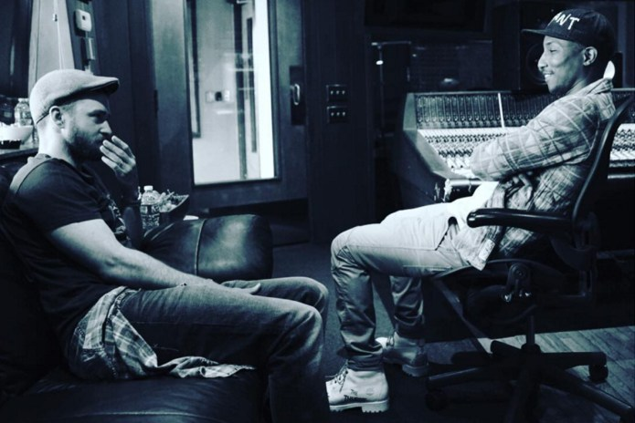 Justin Timberlake Was in Studio With Pharrell and Tyler, the Creator Is Excited