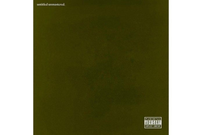 Stream Kendrick Lamar's New Album, 'untitled unmastered'
