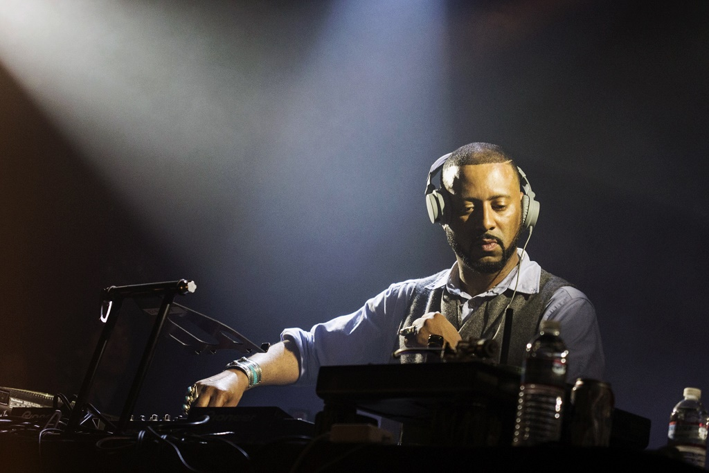 """Four Tet Debuts Madlib & Future Islands' Sam Herring's New Trouble Knows Me Song """"Rings In The Coffee"""""""