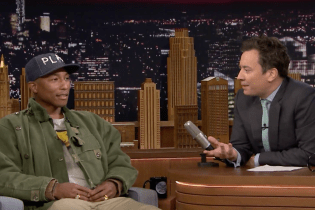 Pharrell Williams and Jimmy Fallon Bond Over Their Favorite '80s Sitcoms