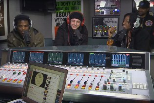 Joey Bada$$, Kirk Knight & Nyck Caution Freestyle for 20 Minutes