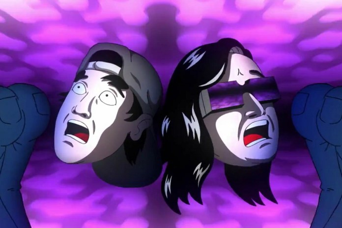 """The Video for Skrillex, Jauz & Fatman Scoop's """"Squad Out!"""" Is an Animated Acid Trip"""