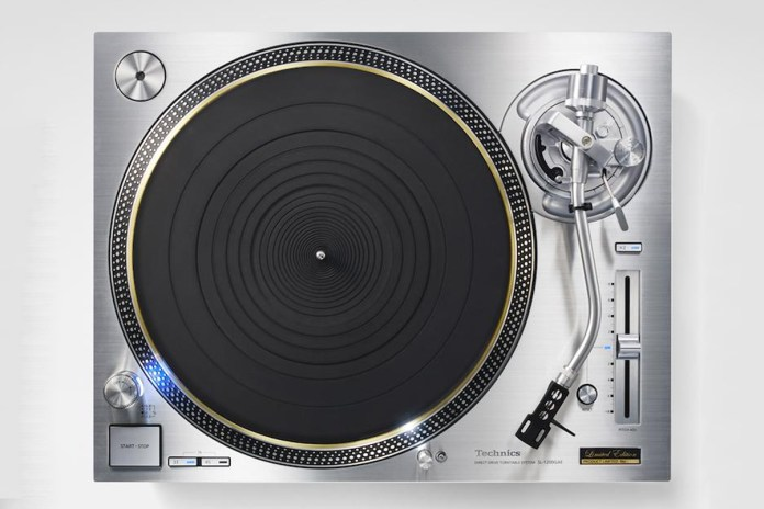 Technics Explains Why the New SL-1200 Turntable Costs $4,000