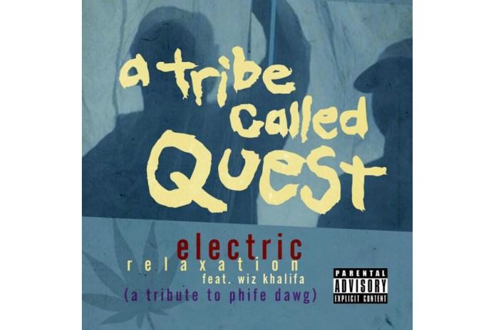 "Wiz Khalifa Shares Phife Dawg Tribute With ""Electric Relaxation"" Flip"