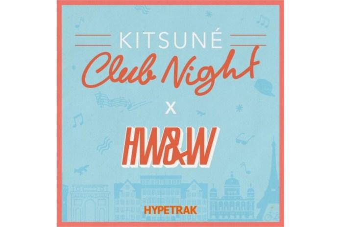 Listen to DrewsThatDude's Exclusive Mix for Our Upcoming Kitsuné x HW&W x HYPETRAK European Tour