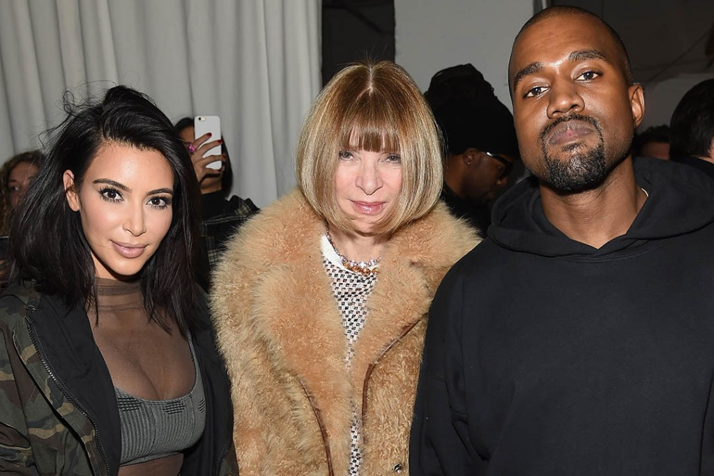 Anna Wintour Apologizes for Her Remarks on Kanye West's Fashion Line