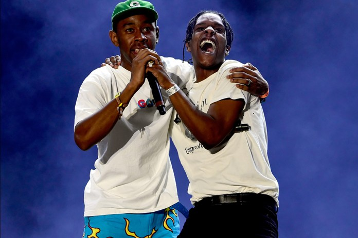 A$AP Rocky Brought Out Tyler, the Creator, Miguel & A$AP Ferg at Coachella