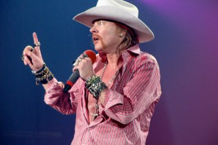 Axl Rose is Substituting As Lead Singer for AC/DC