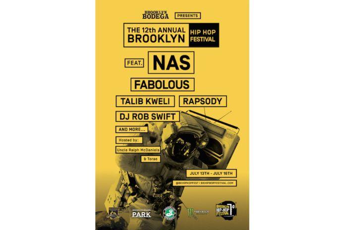 Nas, Fabolous, Talib Kweli & More Set to Perform at 2016 Brooklyn Hip-Hop Festival