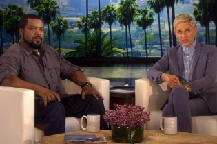 Ice Cube & Ellen DeGeneres Face off in Rap Song Title Game