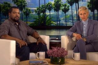 Ice Cube & Ellen DeGeneres Face off in Rap Song Title Game
