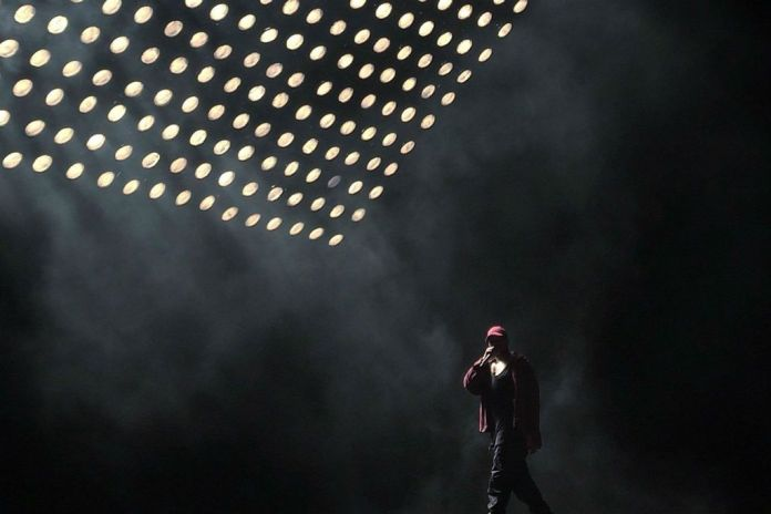 A Career's Worth of Kanye West's Raps Went Down the Toilet