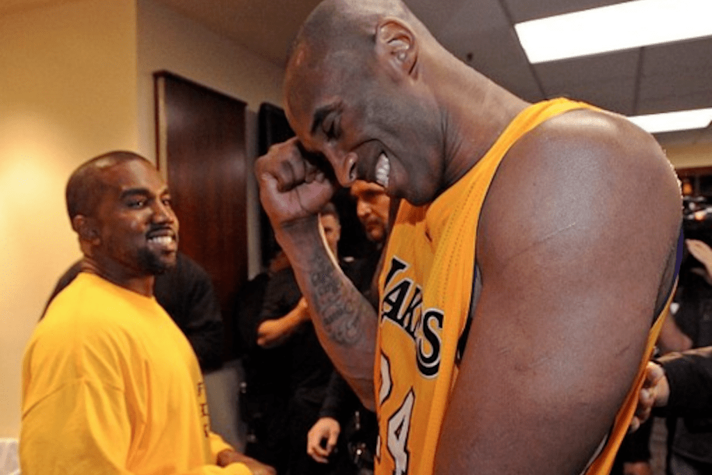 Kanye West Made a Special TLOP-Inspired Kobe Shirt for Kobe Bryant's Final Game