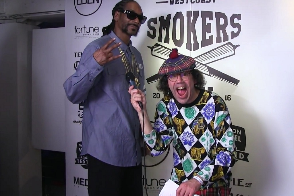 Nardwuar Interviews Snoop Dogg for Eighth Time