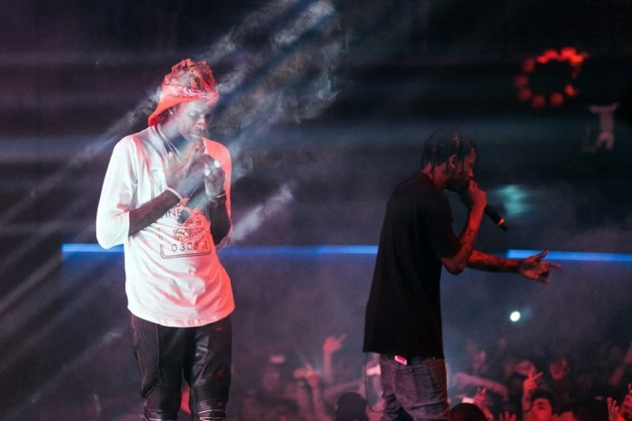 Travi$ Scott Debuts New Young Thug Collaboration