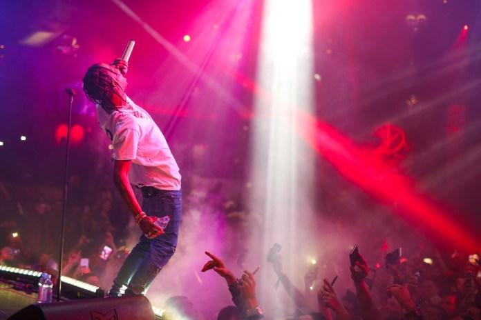 Travi$ Scott Had a Very Young Fan Rap a Pretty Explicit Line Last Night