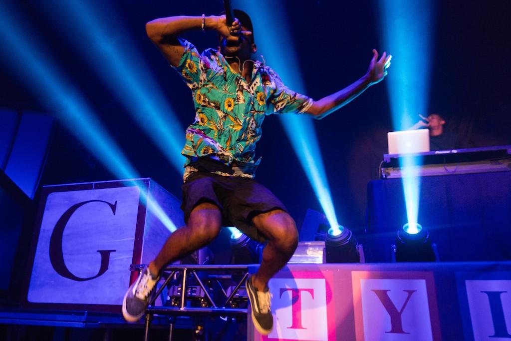 Watch Tyler, The Creator's Impersonation of Desiigner Dancing