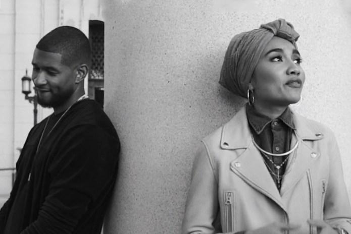 "Yuna & Usher Address Puppy Love in ""Crush"" Video"
