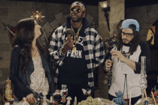 Watch 2 Chainz Get Lifted With $500K Bongs and Dabs