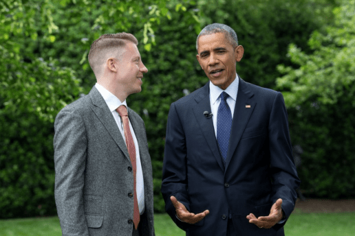 Barack Obama and Macklemore Join Forces to Discuss Opioid Addiction