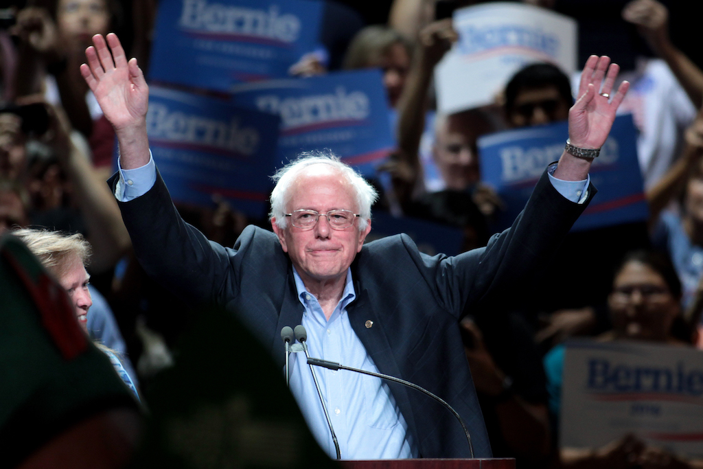 "Watch Bernie Sanders Enter Rally to DMX's ""Where The Hood At"""