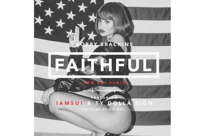 "Bobby Brackins Links With Iamsu! & Ty Dolla $ign For The ""Faithful"" New Bay Remix"