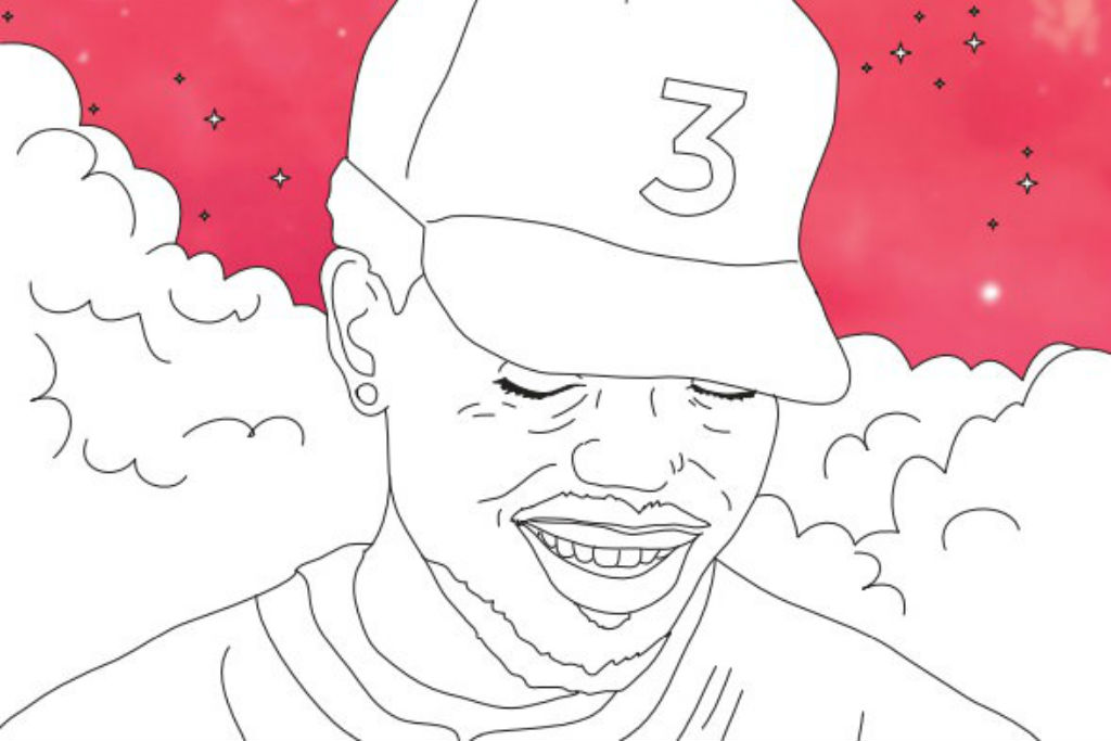 Chance The Rapper's 'Coloring Book' Lyrics Have Been Adapted Into a Real Coloring Book