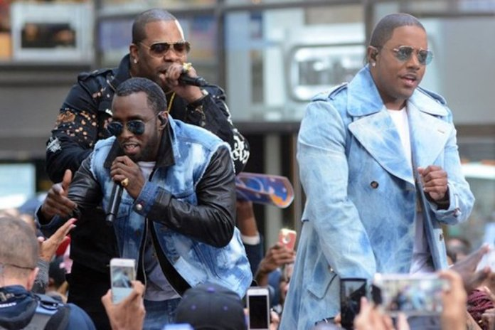 Puff Daddy and The Family Perform Live on The Today Show