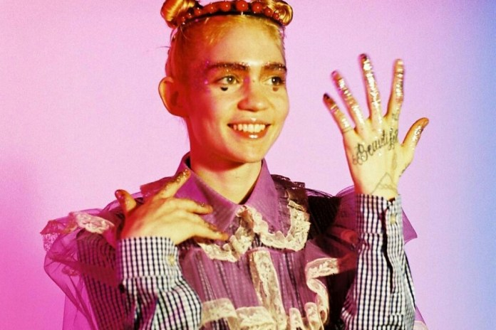 "Grimes Introduces the Video for 'Art Angels' Track ""California"""