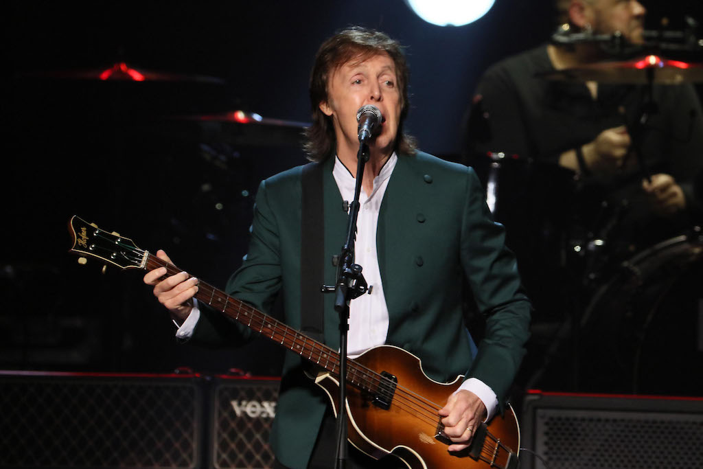 "Paul McCartney Defends Kanye West's Use of the ""N-Word"""